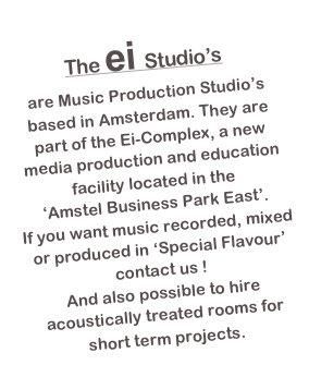 The ei Studio's 